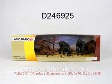vinyl monkey animal model set ,solid color monkey toys for kids ,zoo animal set toys can do OEM D246924