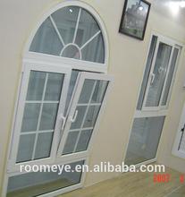 economic pvc tile&turn windows Guard against theft