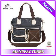 Alibaba express high quality elegant canvas bag fashion cheap men handbag made in China