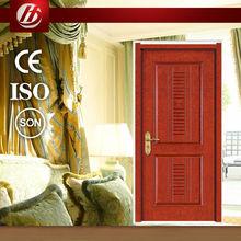Nice design 100% pure solid wooden door mahogany wood entry door