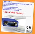 alta qualidade de resolução 15 pinos cabo vga
