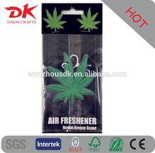 100% cotton paper classic car air freshener/paper air freshener
