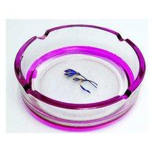 Fashionable hot sale glass round ashtray glassware