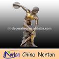 El hombre desnuda estatua deinterior/al aire libre de la escultura de bronce ntbh- c325