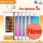 Mobile phones accessories bicolor round edge cleave aluminum bumper metal case for iphone 5s