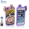 Veaqee New colored silicone bumper frame case for iphone 5