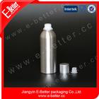 black aluminum bottle for vodka 750ml