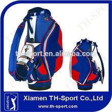 luxury pu leather staff bag 1 piece golf bag