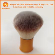 2015 High quality cute golden handle nylon hair kabuki blush brush