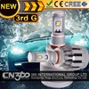 2014 All in one 20W 2000LM 9005 best headlight led car fog light