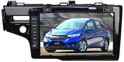 "9"" car DVD GPS player for Honda FIT 2014, with TV,radio, bluetooth, 3G WCDMA"