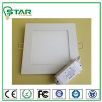 ultrathin surfacemounted 3w square flat led panle light