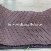 Ribbed conveyor belt/V-Belt/Chevron Steel cord conveyor belt