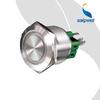SAIP/SAIPWELL Electrical Circular Wiring Terminal Metal Waterproof Push Button Switch