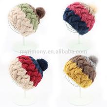 pom pom kids crochet beanie hats wholesale from Myrimony knit hat manufacturers