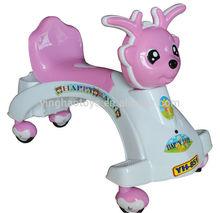 Color activity Cartoon ride-on foot to floor YH-850 Pink