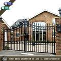 elegante residenciais e comerciais de alta qualidade durável para pedestres portão de ferro