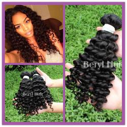 Malaysian Deep wave 6a grade factory cheap wholesale virgin malaysian hair