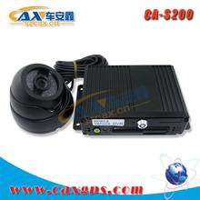 mini 4ch SD card mobile DVR for bus/school bus security management