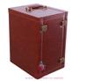 6 bottle leather wine carrier wine box