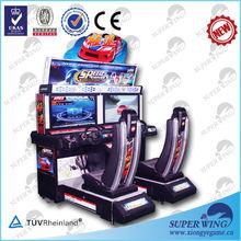 """32 """" velocidad del controlador de arcade de la diversión del coche 3d simulador de conducción de automóviles"""