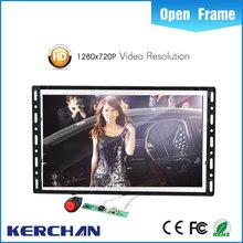 7 Inch Open frame advertising monitor/lcd tv table model