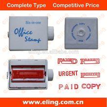 Self inking stamp golf ball stamp