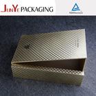 Luxury unfinished folding leather wooden wine box