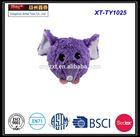 2014 new plush elephant head pet ball toys