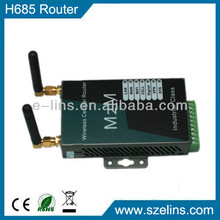H685 serial 3g modem ethernet with sim card slot