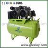 Dental reciprocating air compressors