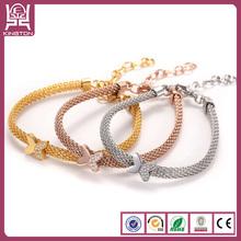 2015 butterfly bracelet brazilian gold jewelry wholesale