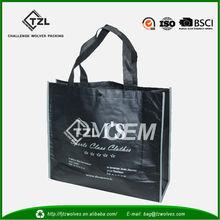 fashion shopping bag for cloth, customer target reusable shopping bag