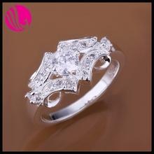 diamond nail rings platinum 950 ring gold ring 585 Silver Ring