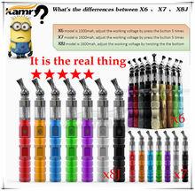 health care products 1600mah X8J battery,pure wood mod k600