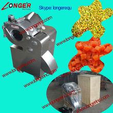 High quality vegetable cube cutting machine|2014 New design vegetable and fruit cube cutting machine