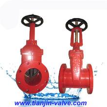 HIigh quality api 600 class 300 ANSI os&y cast steel gate valve cheaper