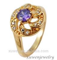 crown shape amethyst zircon 316l stainless steel crown shaped napkin ring