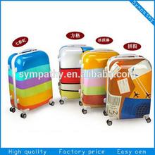 """2014 hard plastic trolley luggage / 20"""" 24"""" 28"""" luggage"""