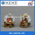 Polyresin Catholic Church Water globe