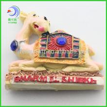 souvenir resin keep down camel fridge magnet