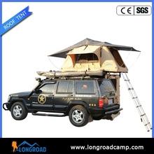 Roof rack tent moto