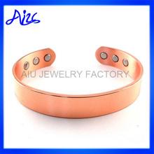 fashion copper magnetic cooper cuff bracelet