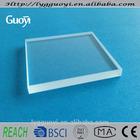 Square shape quartz glass substrate