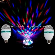 Iran hot sale magic feeling cheap led rotating light 3w for super market