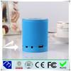 Portable Super Bass wireless mini bluetooth speaker with fm radio led light