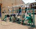 Maíz 5-8t molinos de harina, de molienda de maíz de la máquina, de harina de maíz planta de procesamiento