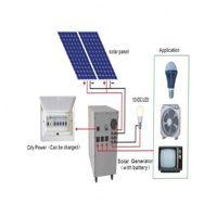 solar system battery solar system ac 220v solar system 500watt