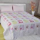 custom printed thin mattress bedcover set