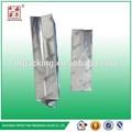 3 capas de laminado de aluminioimpresos personalizados fuelle lado café bolsa& lateral del escudete café/lecheenpolvo/proteína en polvo bolsa